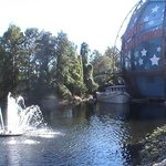 Downtown Disney Near Planet Hollywood Globe