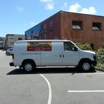 Additional parking and company van. :)