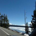 Drive along the lake