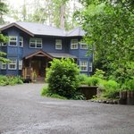 All the B&B suites are on the top floor in this quiet, forested enclave