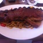 mouth watering full rack of ribs
