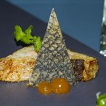 Yum Talay  Marble with crispy Sea Bass Skin