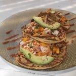 Fish tacos, yum!