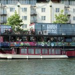 Grain barge taken June 2014 - great pies!