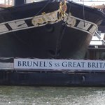 Brunel's Great Britain from baot