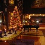 Hall  en navidad