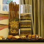 Café da manhã de chef - cuidado com os detalhes, perfeitas medialunas