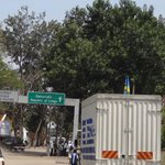 border crossing from Rwanda to Congo