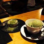 Dont forget to taste green tea tiramisu and ice cream :)