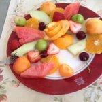 fruit plate yummy