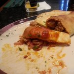 Spicy Sausage Calzone