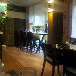 salle de restaurant / petit dejeuner