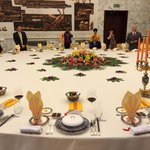 State dining room table.
