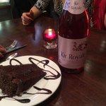 cake + Kir Royale