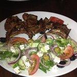 Lamb Chops with mixed salad