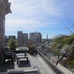 Citizen Hotel, suite balcony