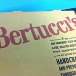 The pizza is from Bertucci's- delicious!