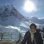 subindo o Mont Blanc