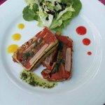 terrine de thon aux légumes grillés