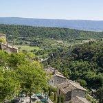 Vue depuis La Bastide de Gordes