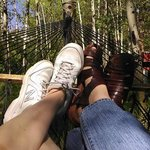 Feet on Vacation at Dripping Springs