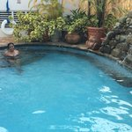 Love the pool.... Quiet and secluded. Great for couples!!!!