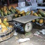 Papayas at Crawford market