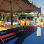 Детская площадка в детском клубе