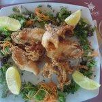 Морепродукты в ресторане Камелот