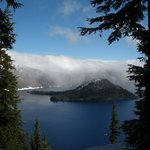 June snowfall at Crater Lake