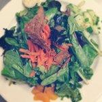 Asian field green salad