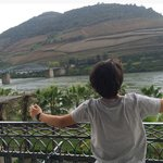 Vista do quarto para o Douro
