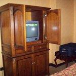 TV in closet :)