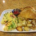 Breakfast scramble special