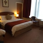 Wonderfully comfortable room, tv a bit small and no hdmi or USB ports but still excellent room,