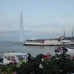 Famoso Jato d'água de Genebra