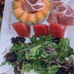 Salade du jour extra!!