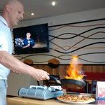 Roberto Creating Pizza Passion - Inferno Pizza