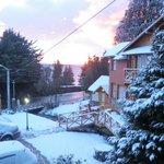 Del Arroyo  con hermosa manta de nieve......