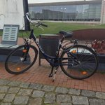 bike rented from front desk
