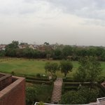 View from the observatory of the Taj Mahal