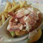 Lobster roll $15.99.