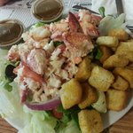 Lobster salad $27.99.