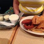 Catfish filet plate