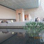 Parte interna do Museu
