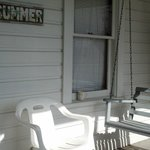 little front screened porch