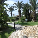 Path from pool area to beach