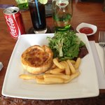 Aussie Pie meal