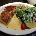 Potate Crusted Atlantic Salmon
