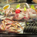 Variety of Fish available for the customers to choose from